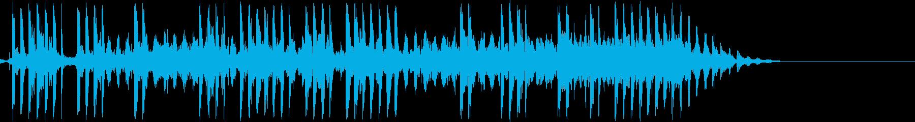 電気ショック/感電(ビリビリ/ビビビの再生済みの波形