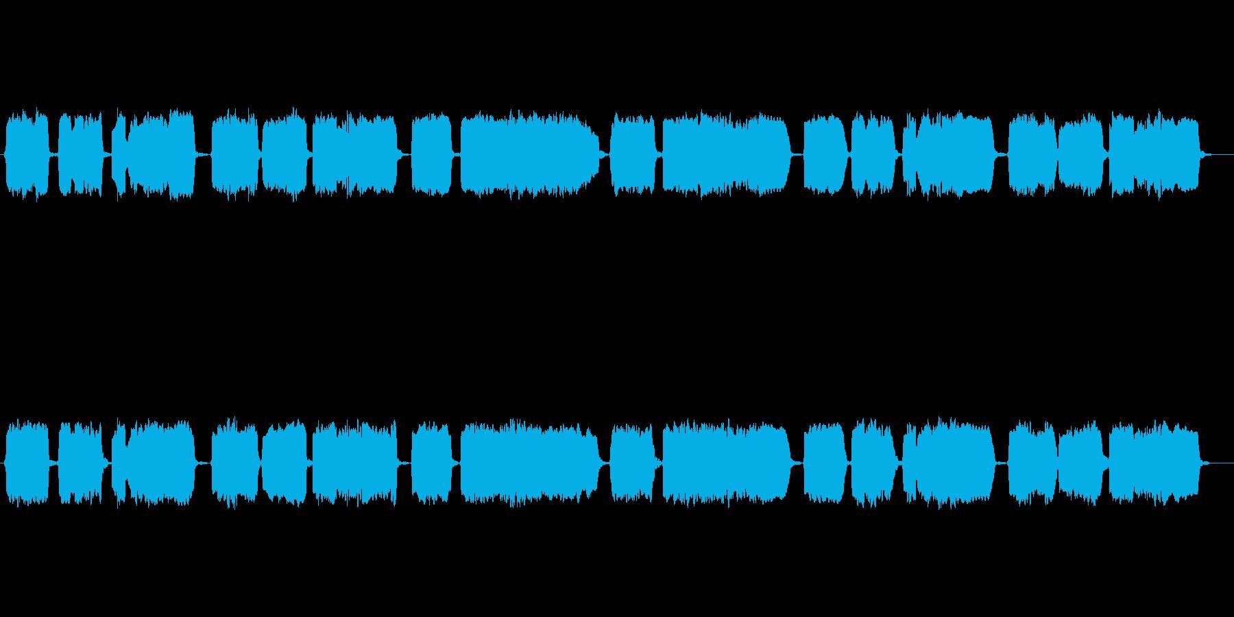 童謡「七つの子」の篠笛独奏の再生済みの波形