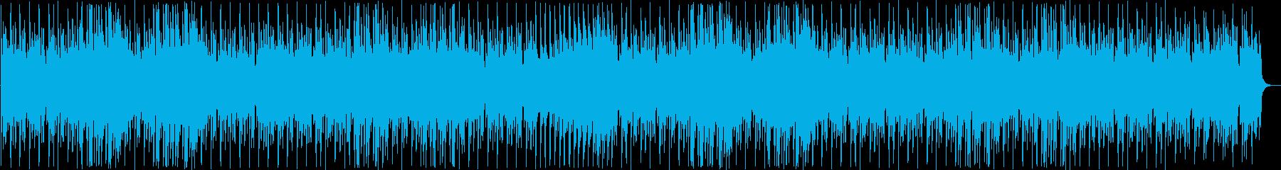 ファンタジーな木琴シンセなどのサウンドの再生済みの波形