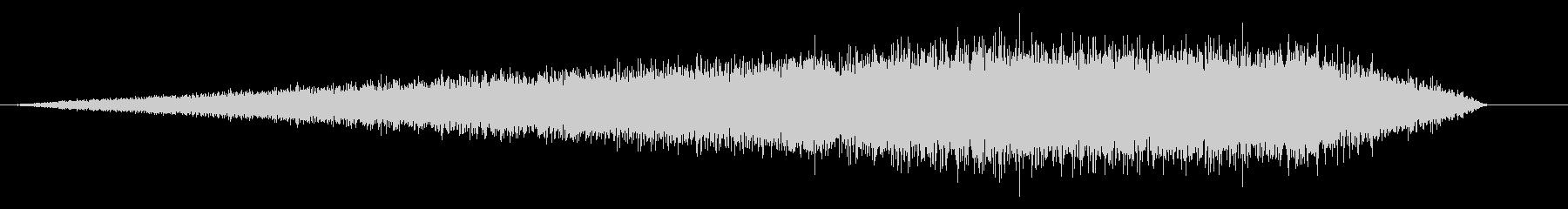 シューン(ホワイトノイズ/ミサイル/滑走の未再生の波形