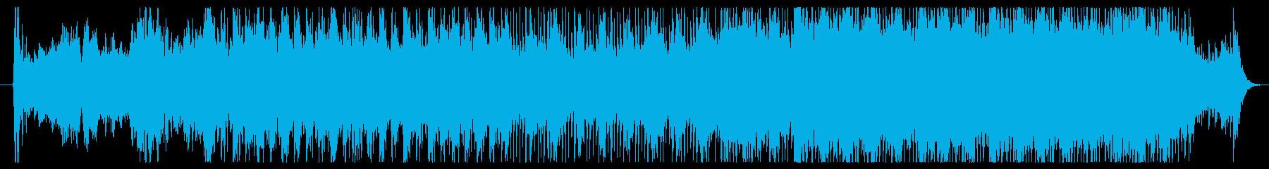 ヴァイオリンを使用した映画音楽です。の再生済みの波形