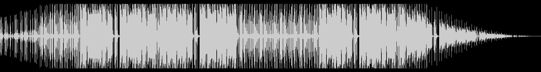 睡魔。ローファイヒップホップ_2の未再生の波形