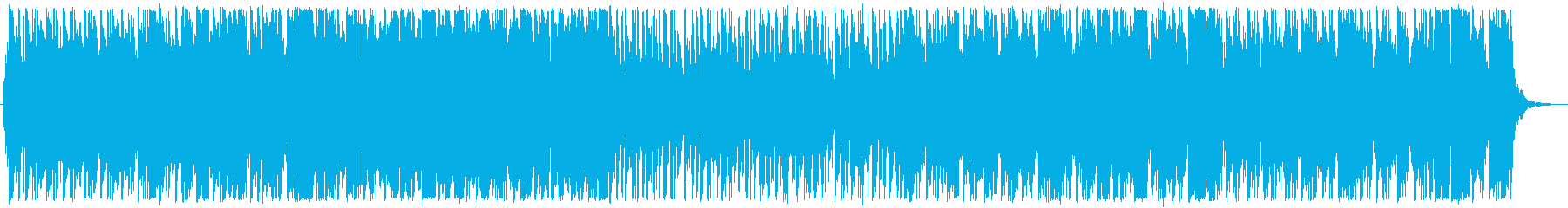 おしゃれな夜をイメージしたBGMの再生済みの波形
