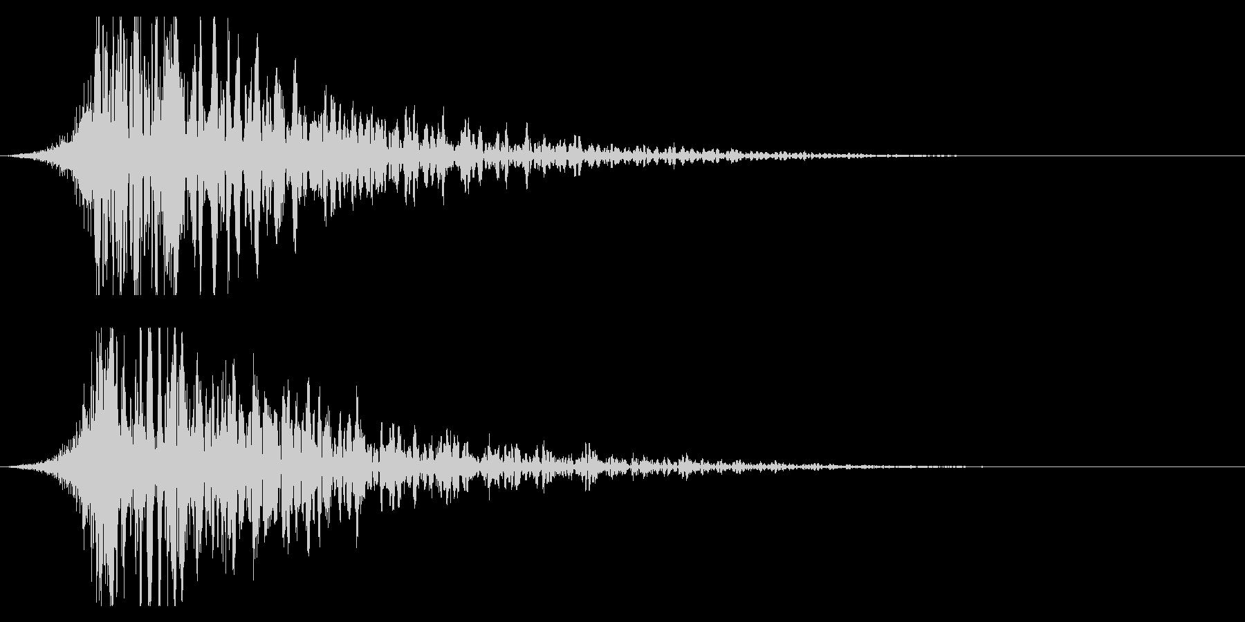 シュードーン-21-1(インパクト音)の未再生の波形