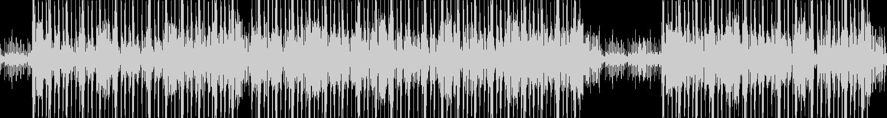機械的な不気味シンセサウンドの未再生の波形