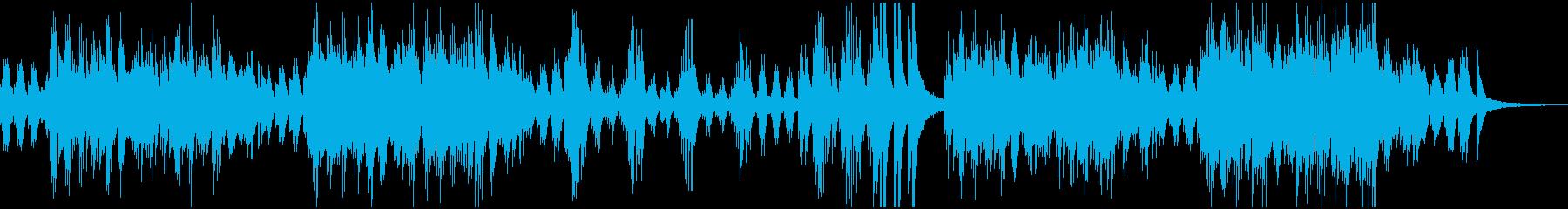 前向きで明るいイメージのピアノソロの再生済みの波形