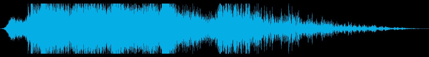 宇宙船:離陸または着陸として使用の再生済みの波形