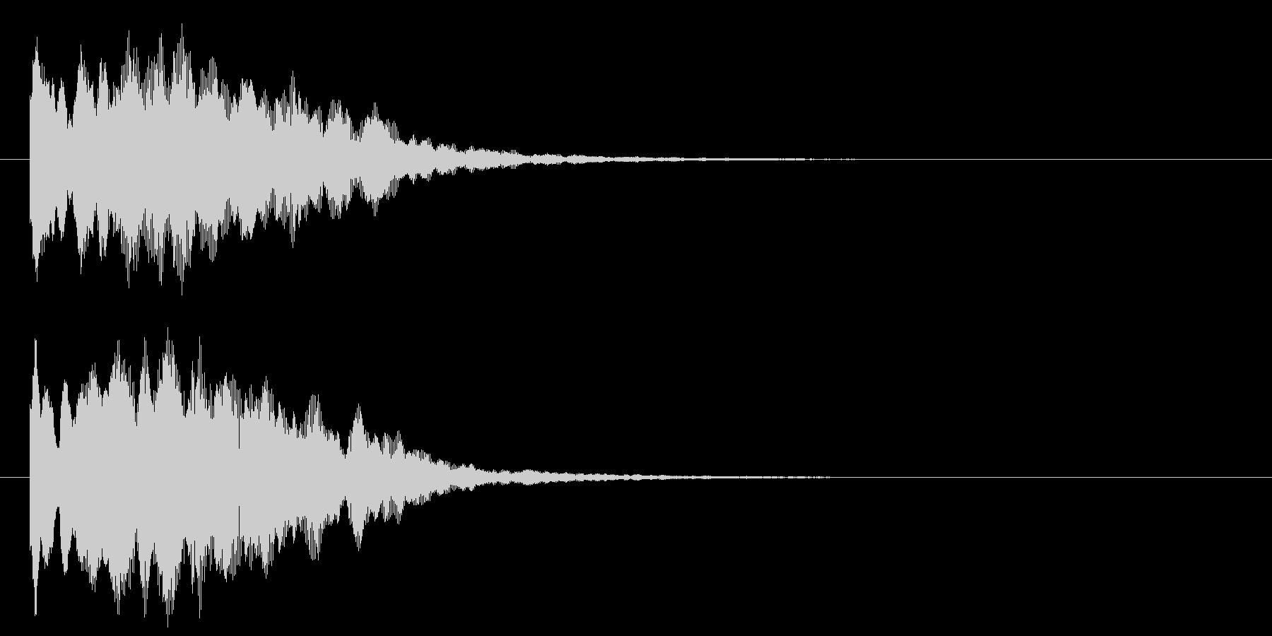 古いパソコンの終了音風ジングル2の未再生の波形