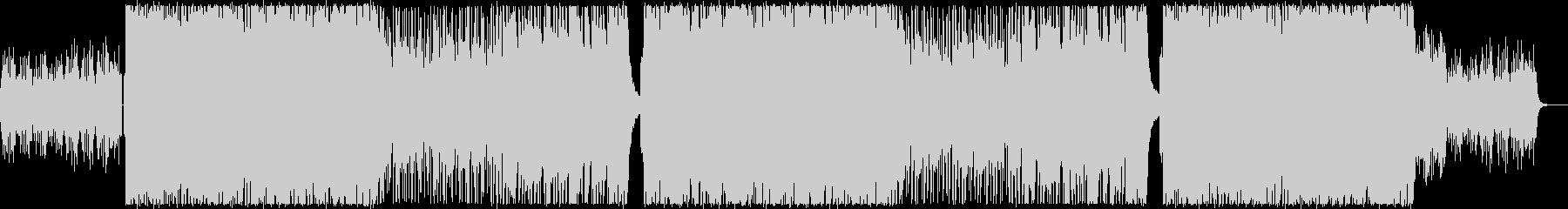 レトロフューチャーな感動系シンセポップの未再生の波形