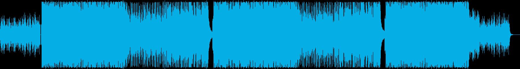 レトロフューチャーな感動系シンセポップの再生済みの波形