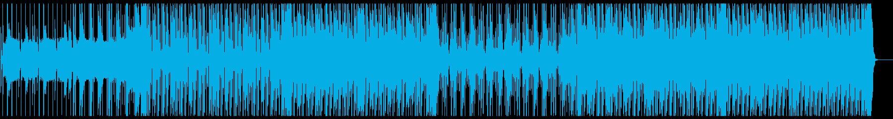 ポップで可愛いトラップ、R&Bの再生済みの波形