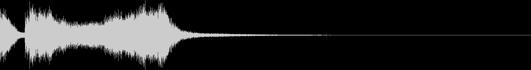 テッテレー4/上下する音 クイズ正解!等の未再生の波形