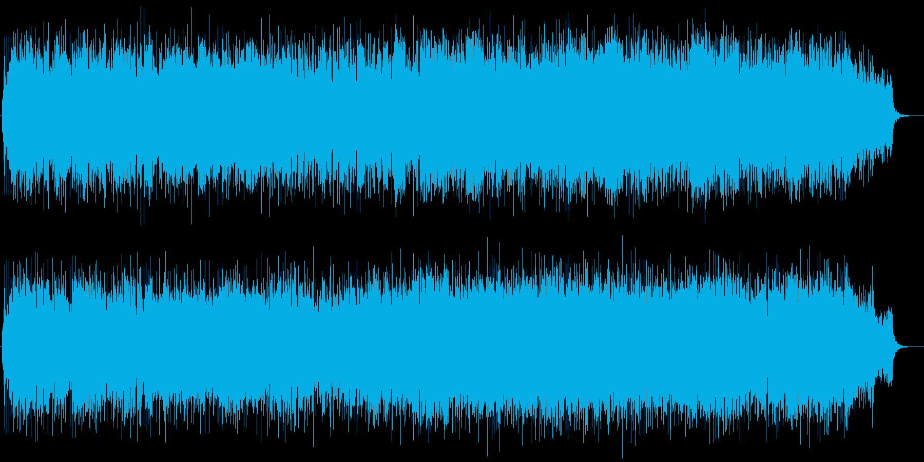 流れるバイオリンの心地よいBGMの再生済みの波形