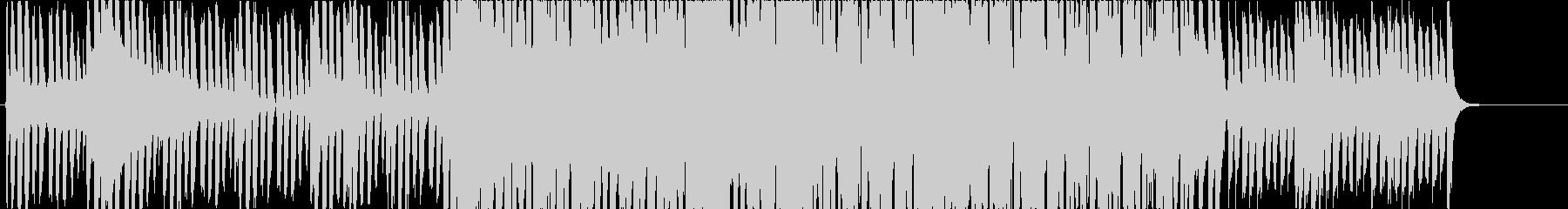 明暗差のあるお洒落なエレクトリックジャズの未再生の波形