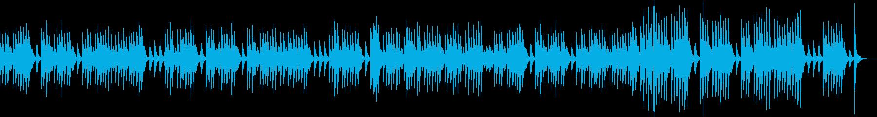 楽しくてワクワクする軽快なピアノ曲2の再生済みの波形
