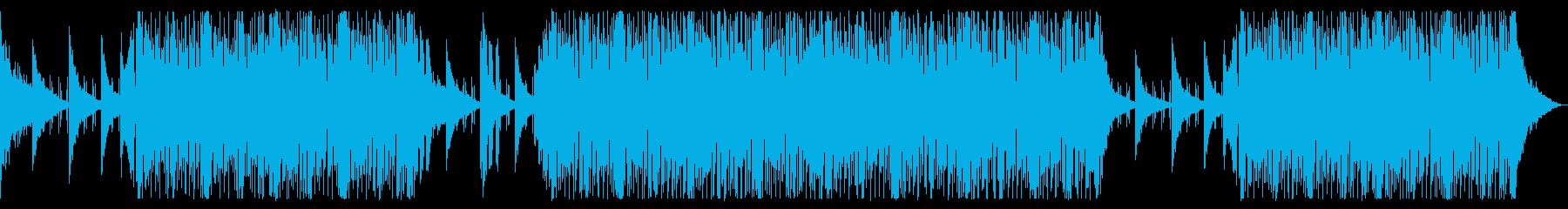 疾走感がある爽やかなドラムンベースの再生済みの波形