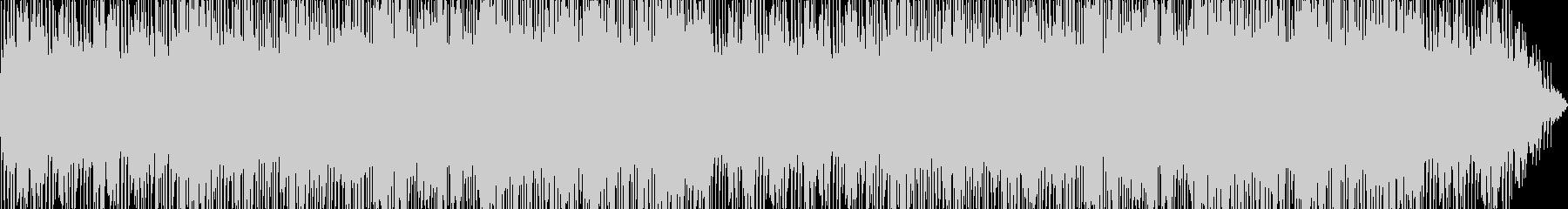 エレキギター旋律の夏らしいフュージョンの未再生の波形