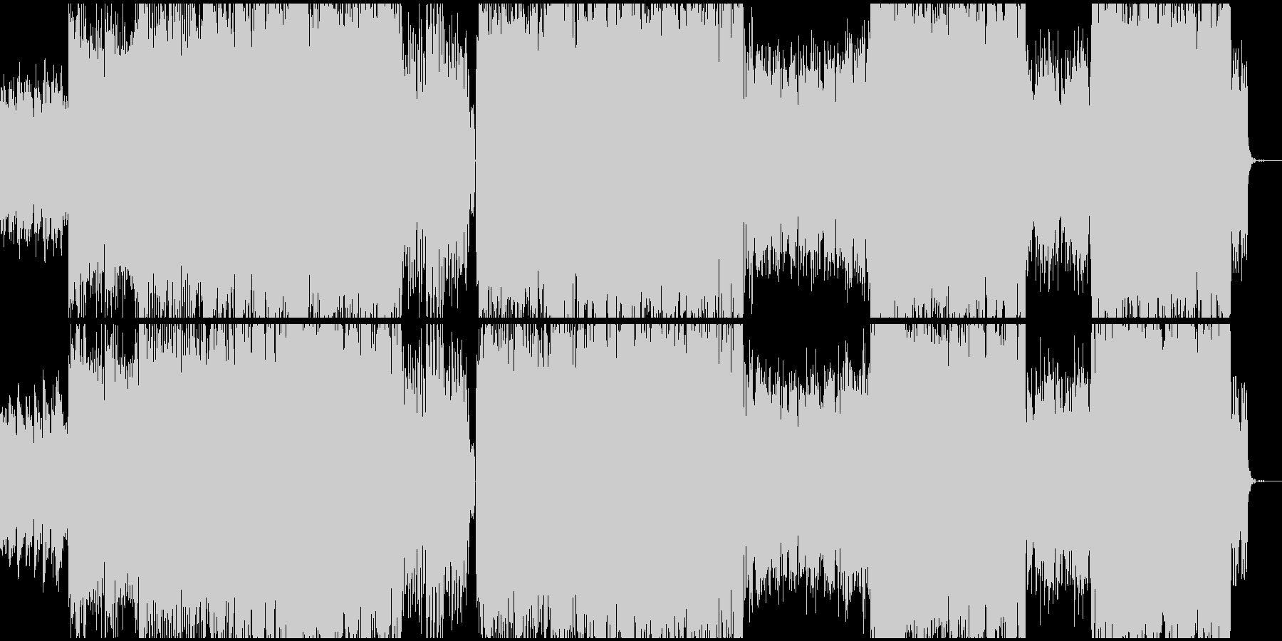 女性ボーカル/キラキラしたポップ/朝の未再生の波形