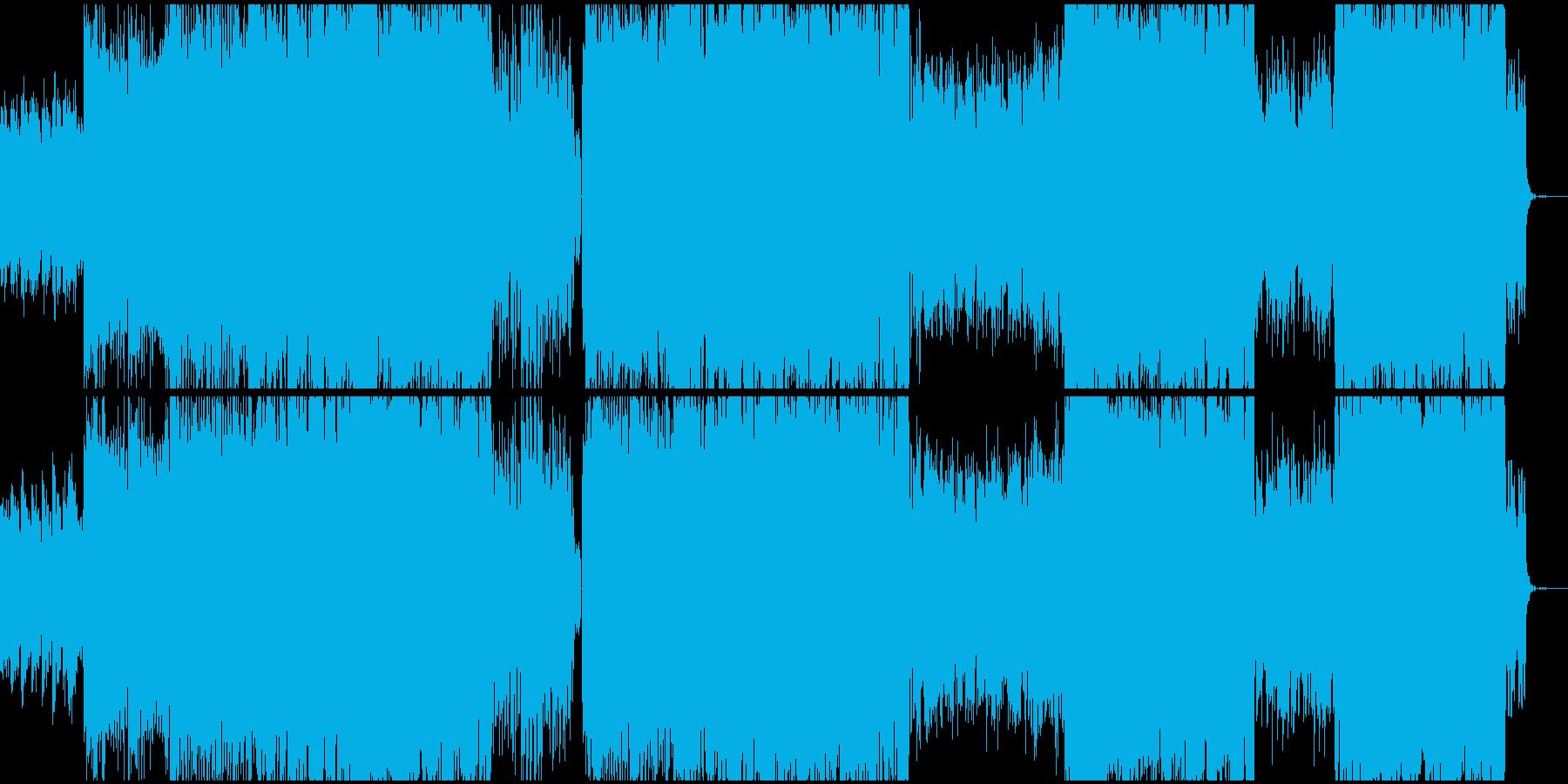 女性ボーカル/キラキラしたポップ/朝の再生済みの波形