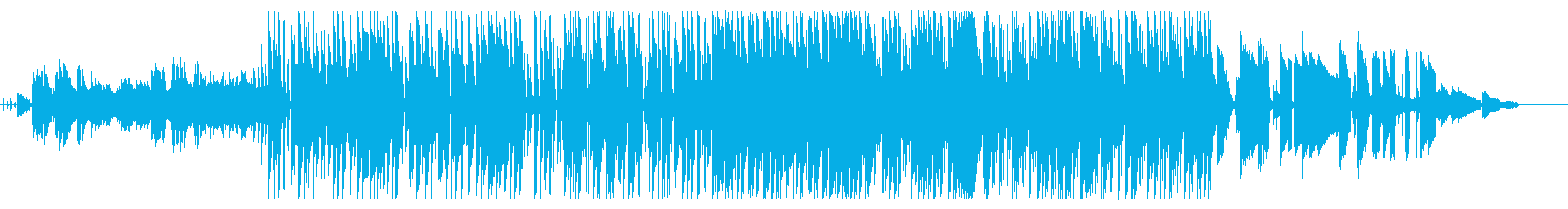 ふわふわkawaiiエレクトロポップの再生済みの波形