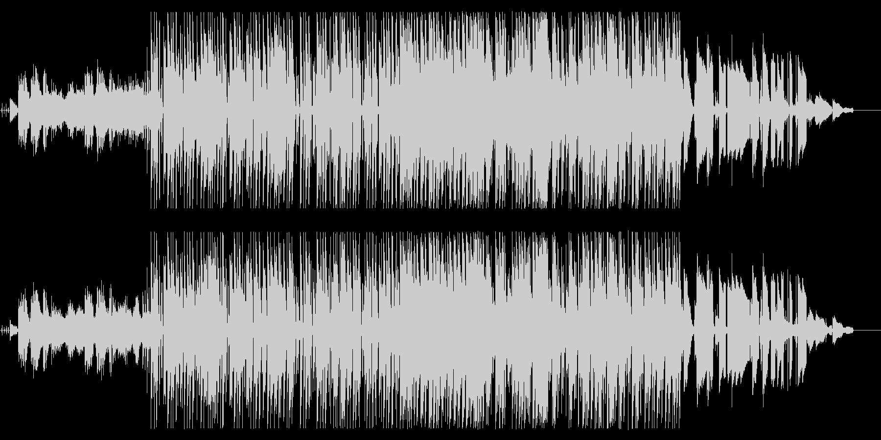 ふわふわkawaiiエレクトロポップの未再生の波形