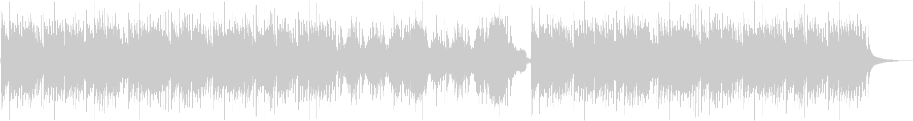 篠笛、琴を使った和風バラードBGMの未再生の波形