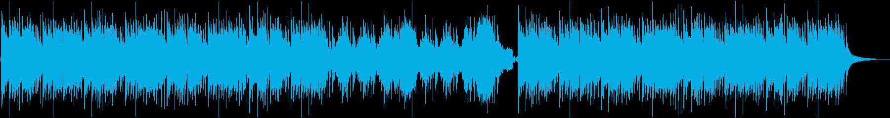 篠笛、琴を使った和風バラードBGMの再生済みの波形