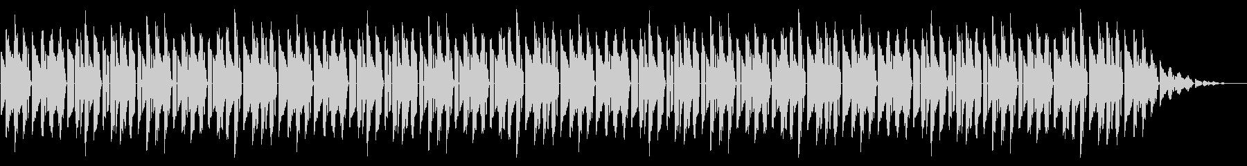 GB系風和風ゲームのED曲の未再生の波形