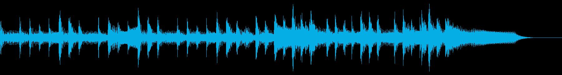 ランチェロリズム、スローテンポから...の再生済みの波形