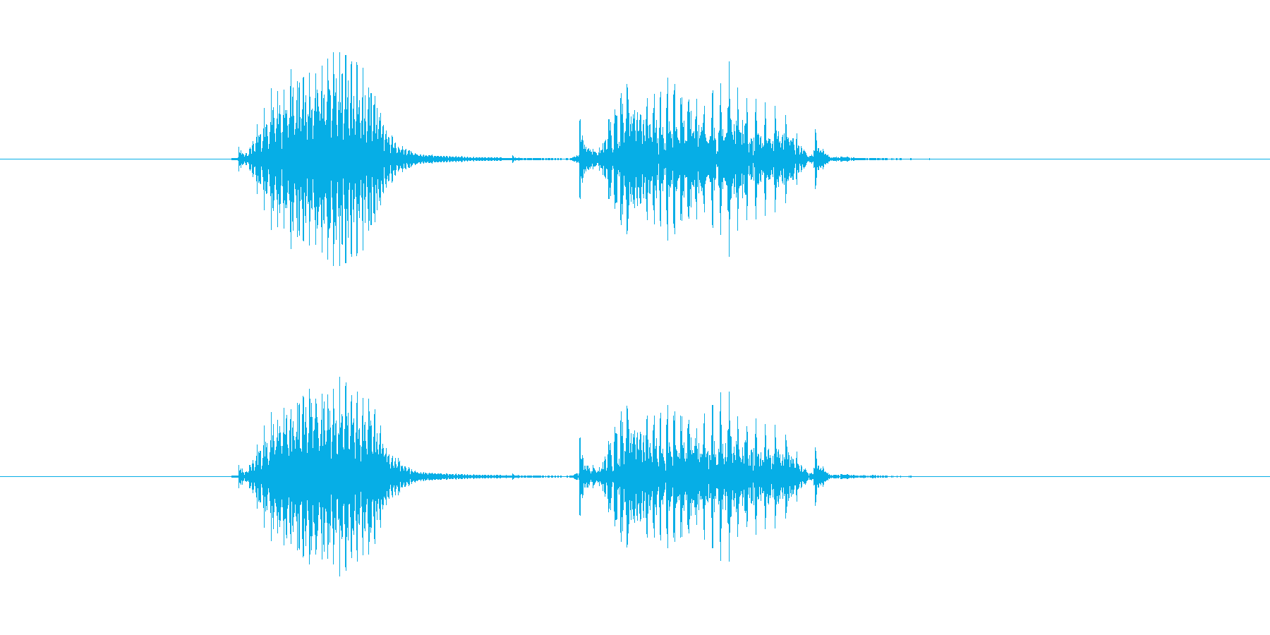 理科の再生済みの波形