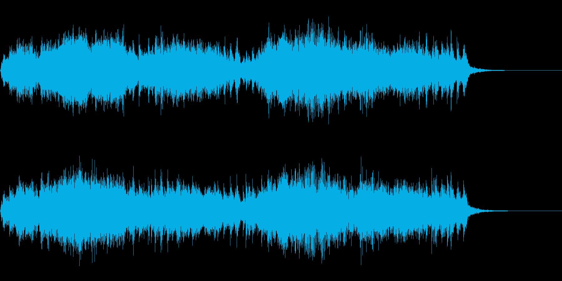 SF的エスニック風アイキャッチ 2の再生済みの波形