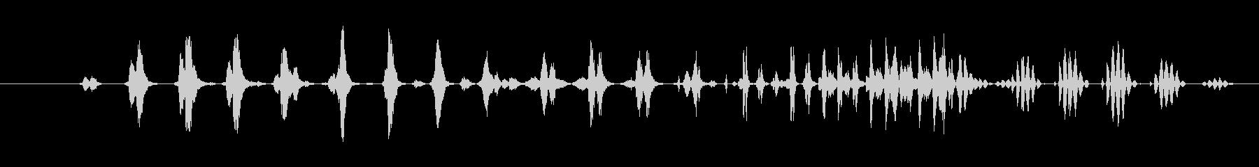 特撮 デジタルラトル02の未再生の波形