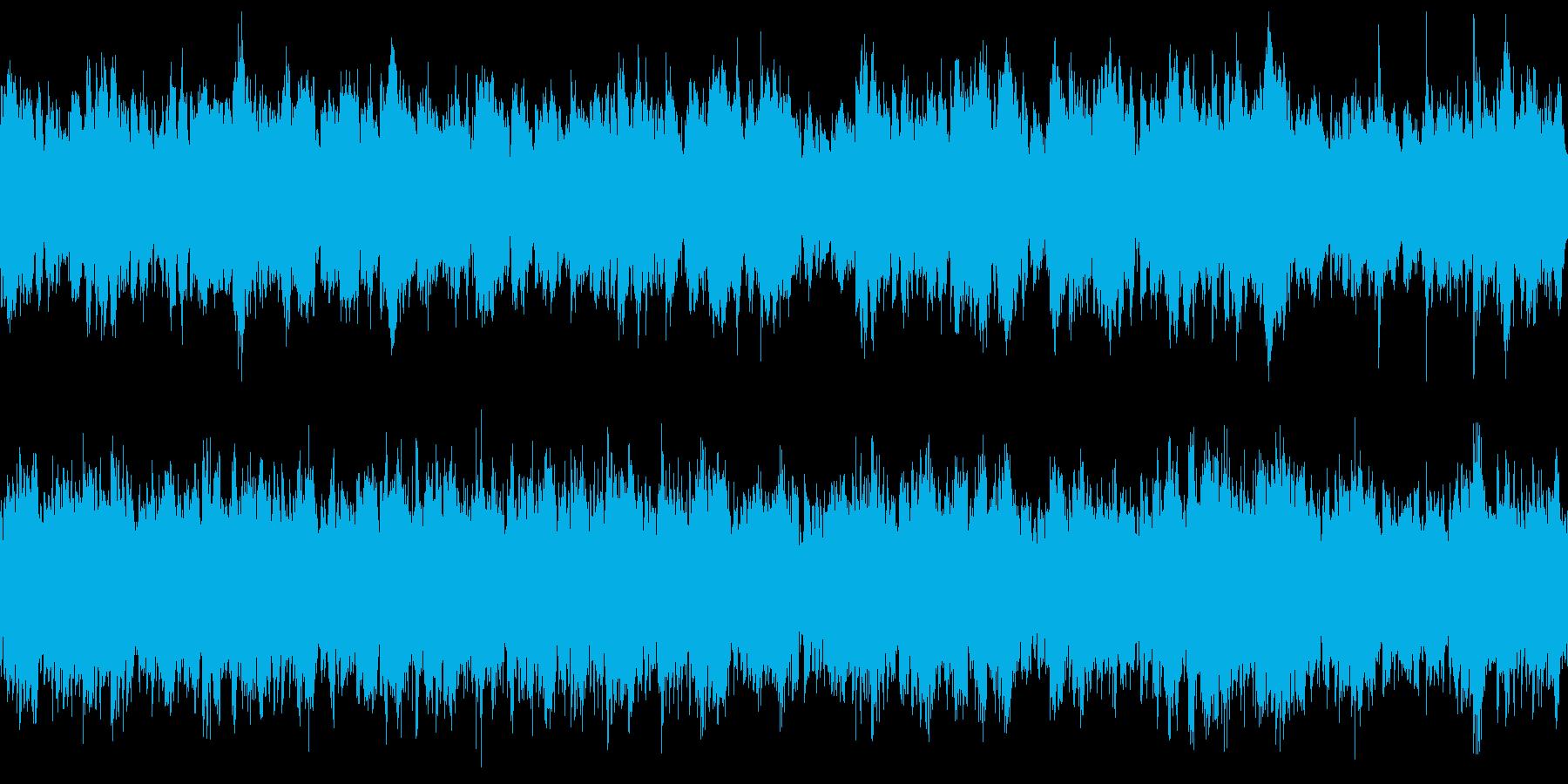 民族音楽調&神秘的 神殿・遺跡のBGM風の再生済みの波形