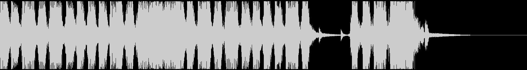 力が湧く4つ打ちガレージロックバンドCの未再生の波形