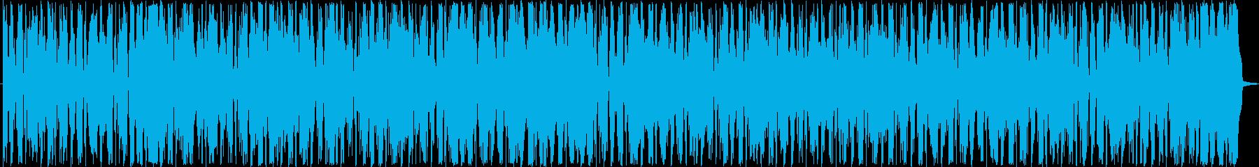 ピアノバー。ソフト、アフタヌーン、お茶の再生済みの波形