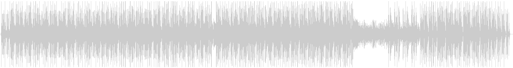 ※メロ無 キュートでエレクトロなボサノバの未再生の波形