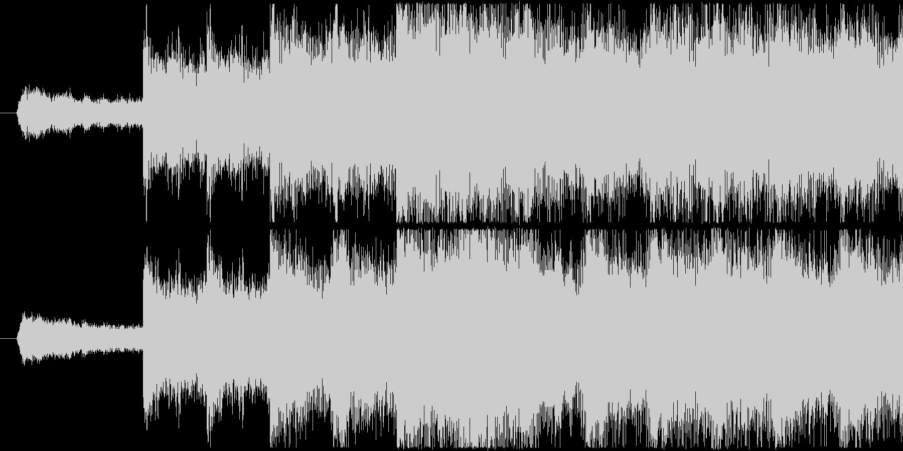 シンセを使用した怪しい雰囲気のサウンド…の未再生の波形