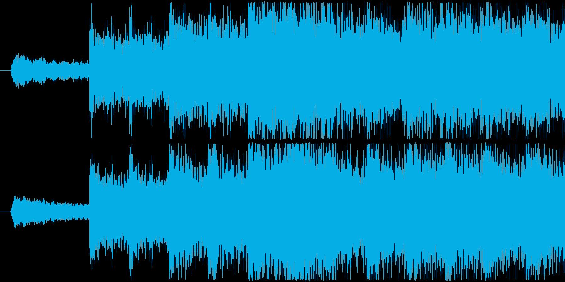シンセを使用した怪しい雰囲気のサウンド…の再生済みの波形