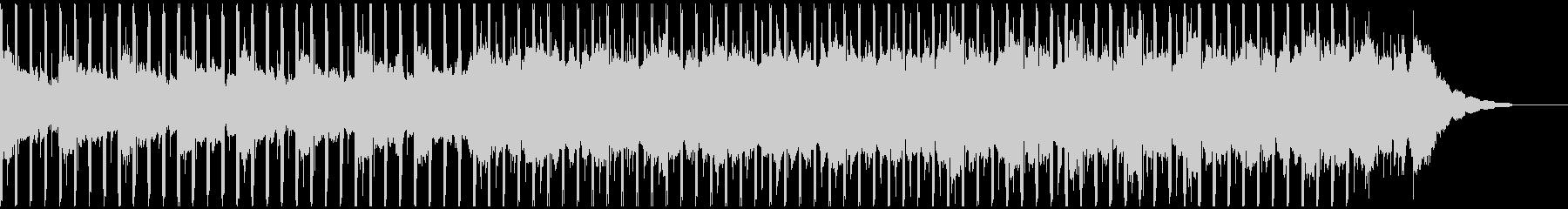 チュートリアル(50秒)の未再生の波形