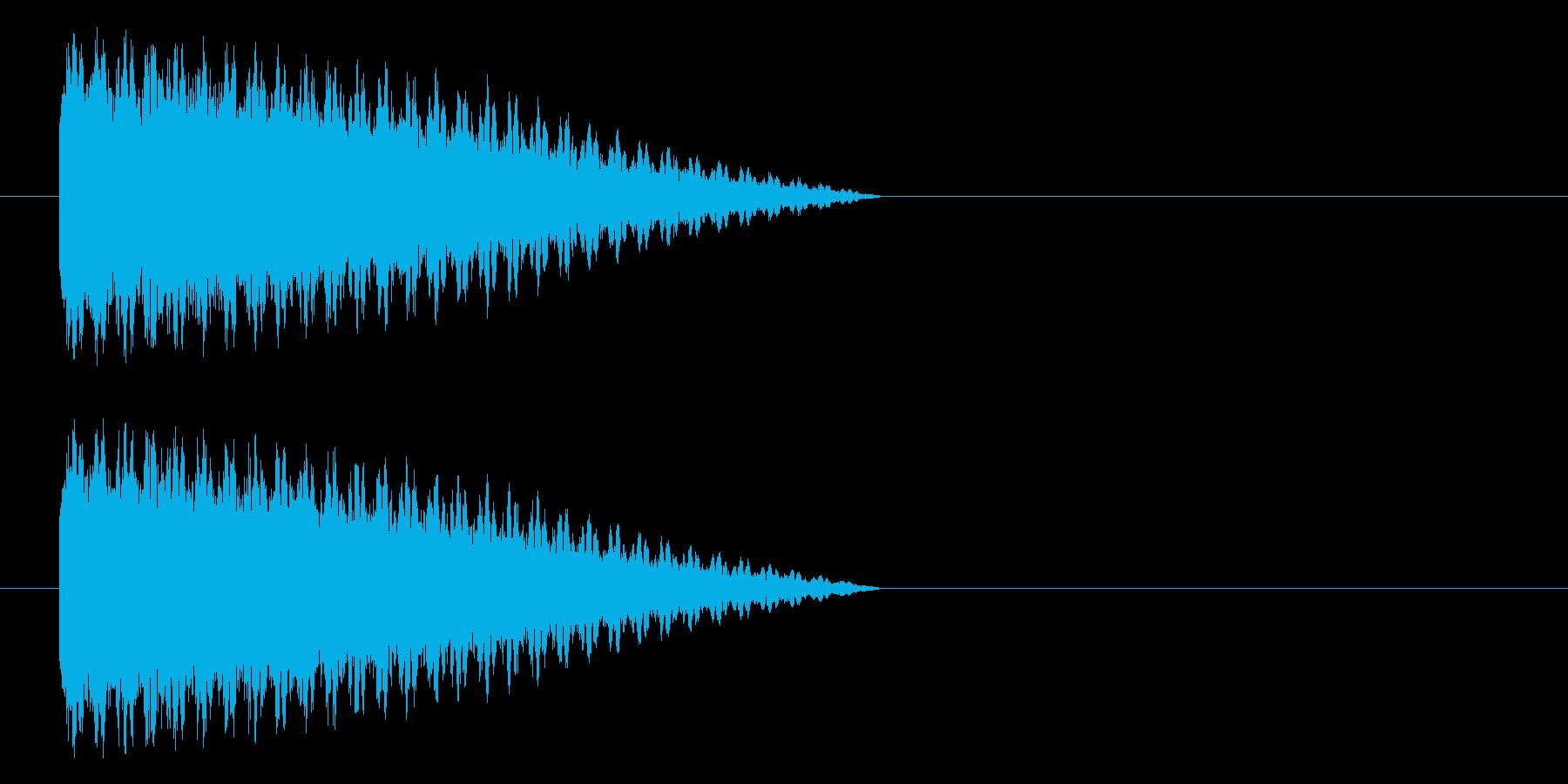ボシューン(機械、蒸気、スチーム)の再生済みの波形