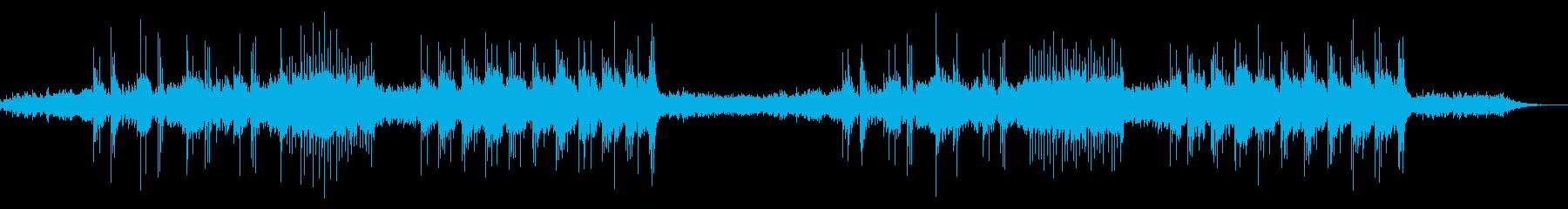 電子頭脳の見る夢の音楽の再生済みの波形