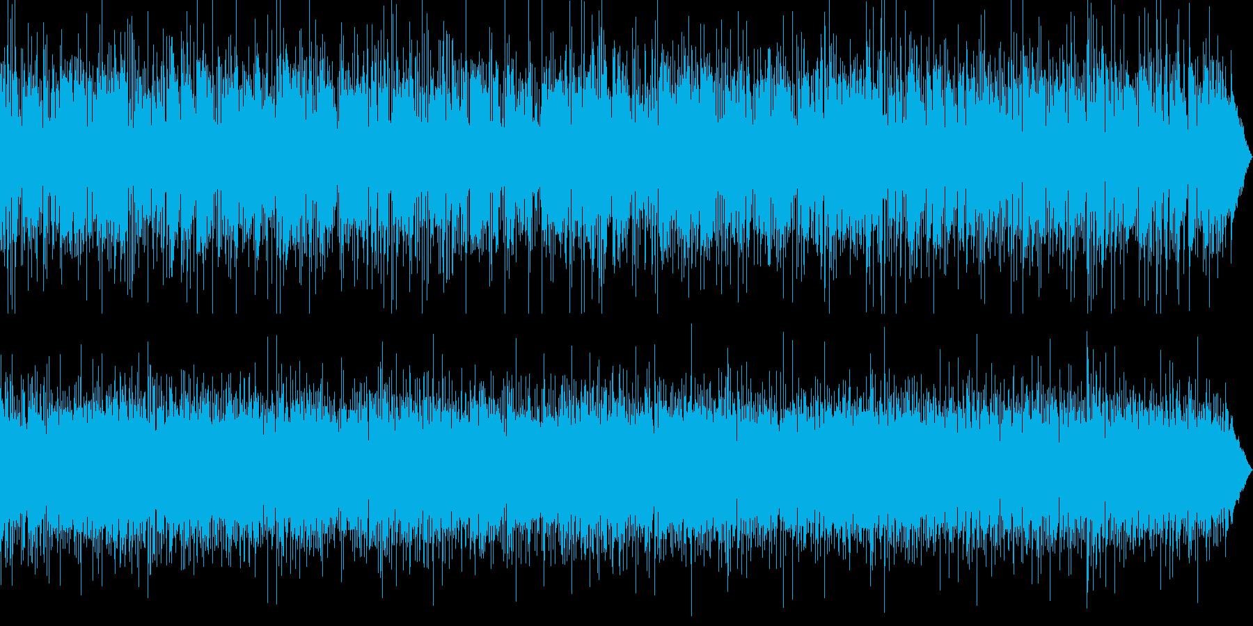 フュージョンジャズ、おしゃれ、都会的の再生済みの波形