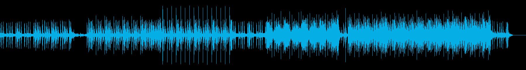 テクノ、ポップ、ピアノ、かっこいいの再生済みの波形