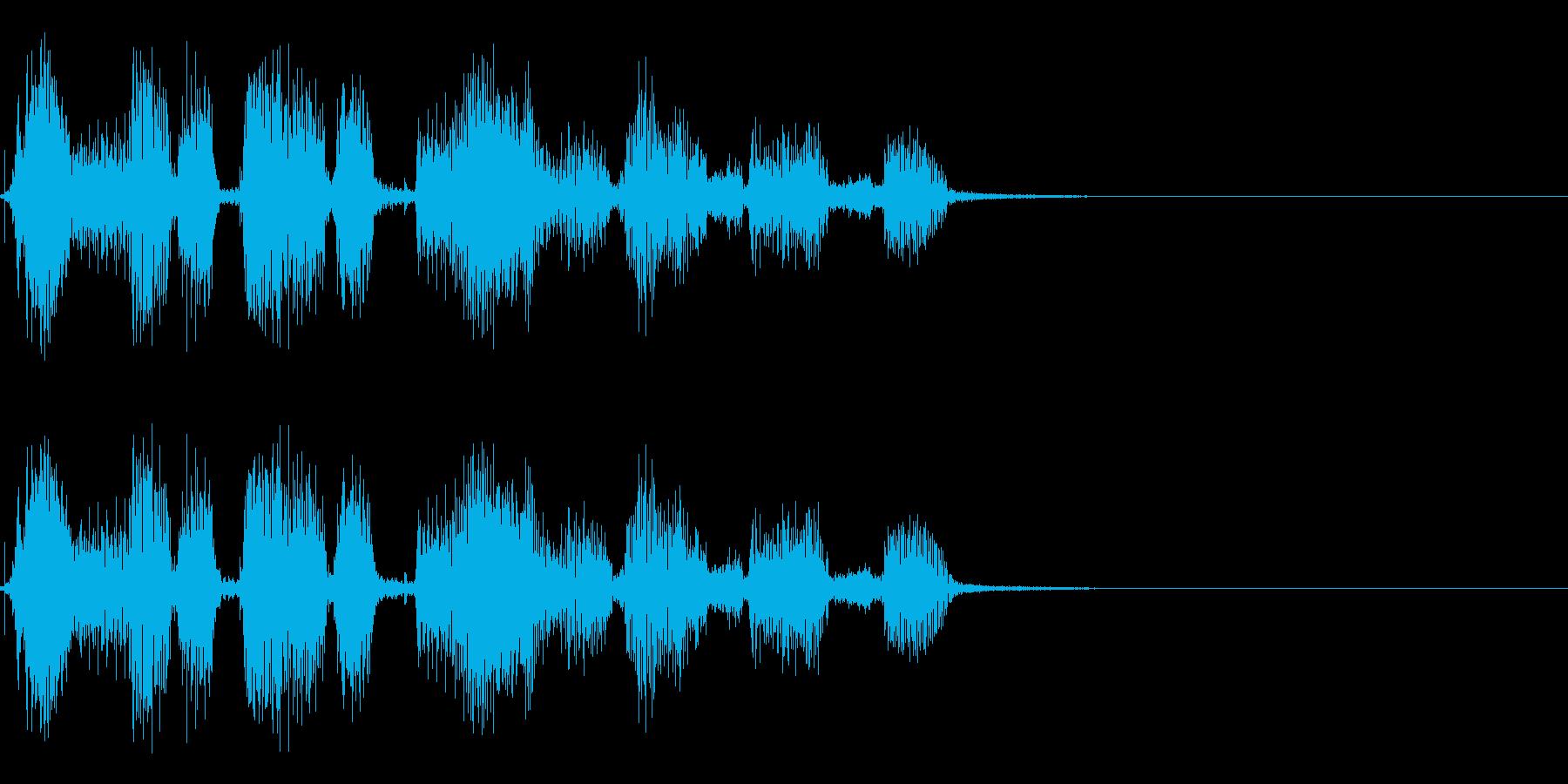 ロボット YouTube「チャンネル~」の再生済みの波形