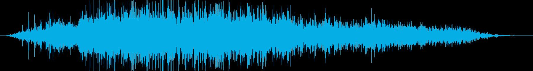 クリーチャーまたはゾンビ:シューと...の再生済みの波形