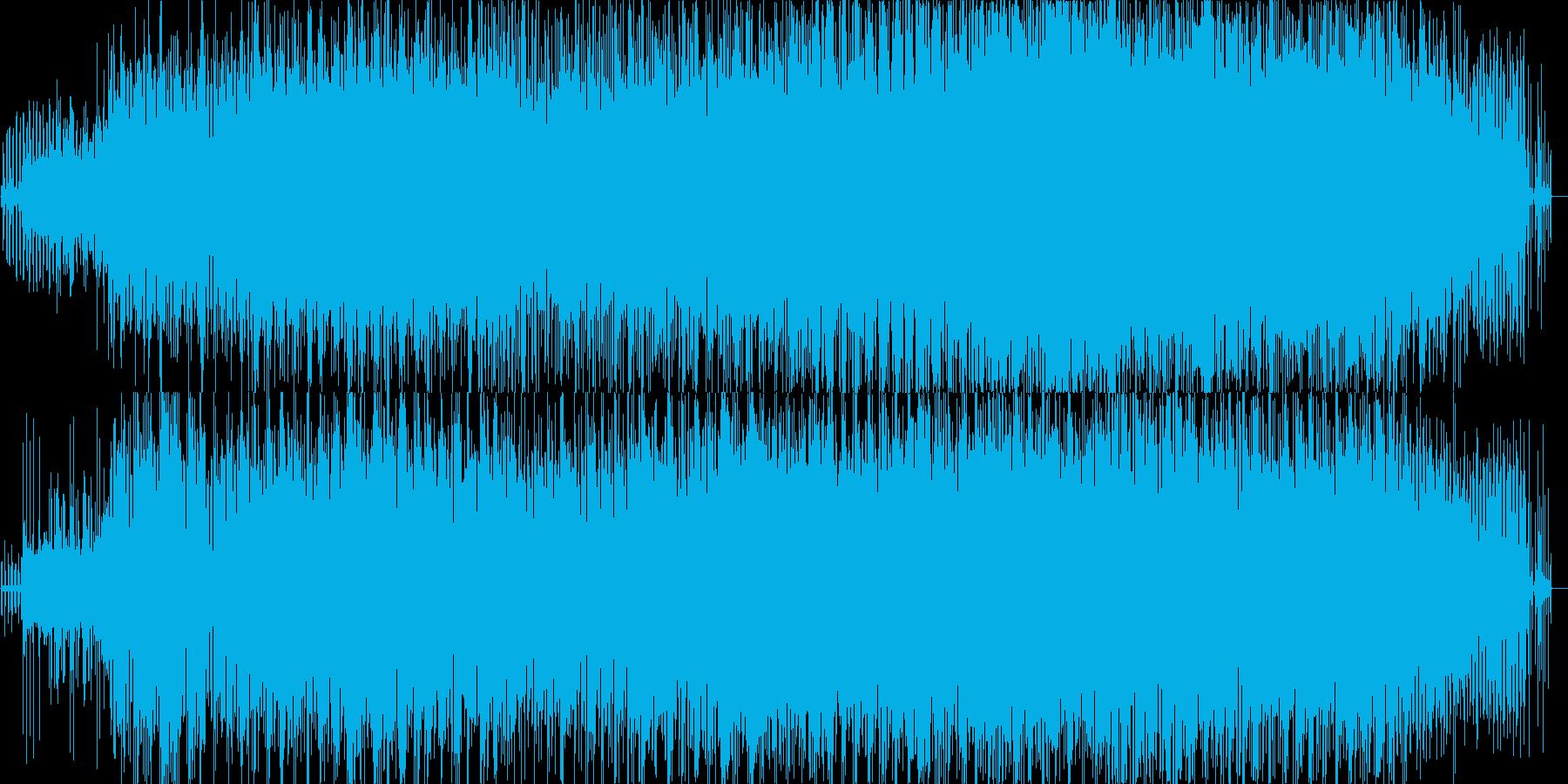 Reflectionの再生済みの波形
