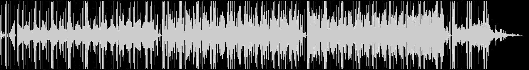 Lo-Fiビートのメロウで都会的チルの未再生の波形