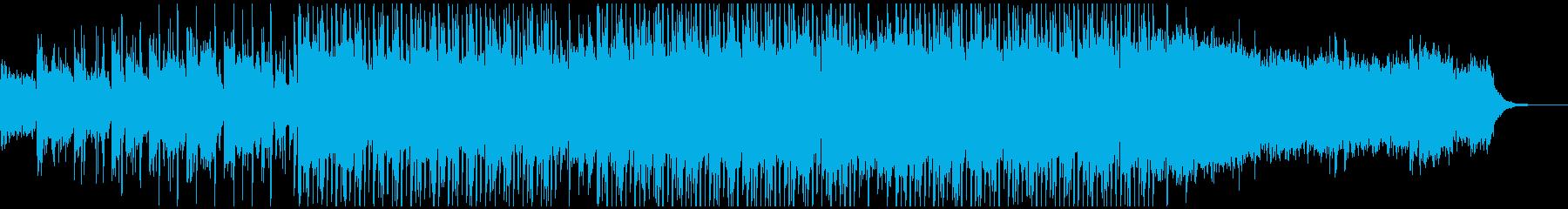 落ち着いた、トロピカルなヒップホップの再生済みの波形