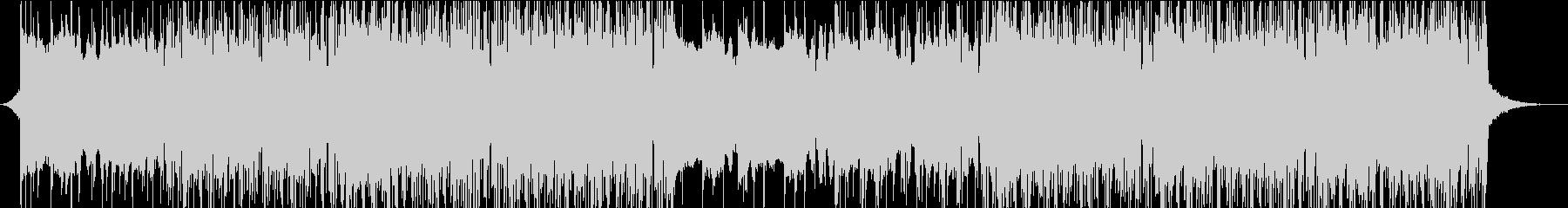 スタイリッシュ、モダン、エレクトロニックの未再生の波形