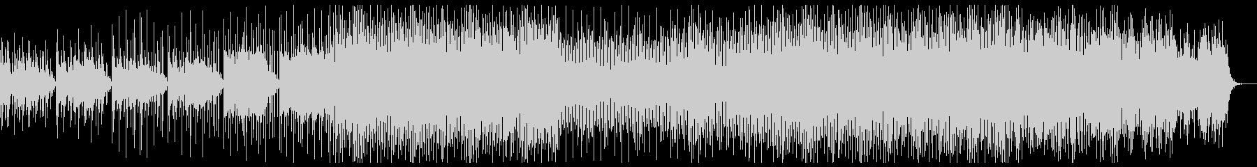 80年代レトロなテクノBGMの未再生の波形